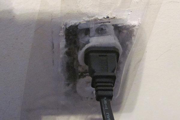 killing bed bug infestation in electrical outlet